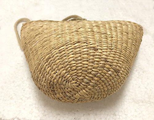 JTC Beige Bag Summer Women Bag body Handbag Mini Straw Beach Bags Cross Messenger Kid Girls Shoulder qwwTpA