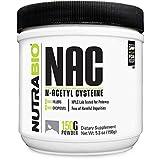 NutraBio N-Acetyl Cysteine Supplement (NAC) - 150 Grams Powder, 600mg Serving