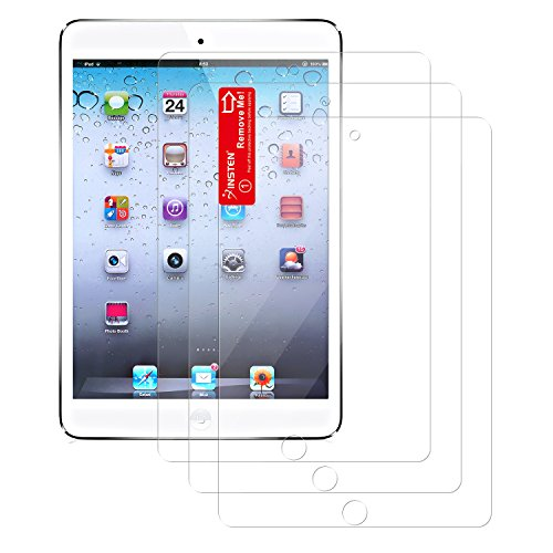 Insten 3-Pieces Reusable Screen Protector for Apple iPad mini, iPad mini 2  iPad mini 3 (PAPPIPDMSP04)