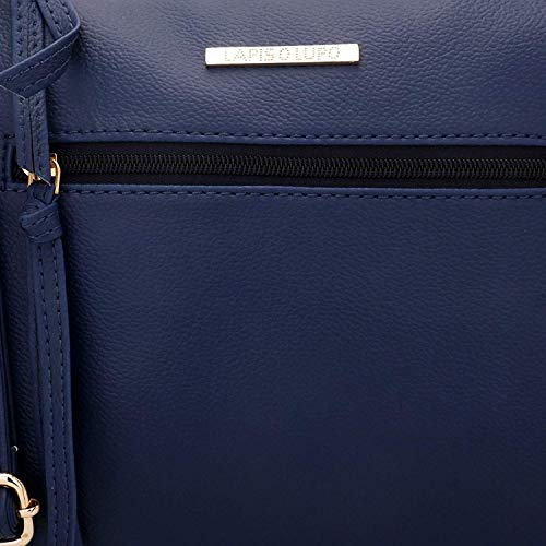 bandoulière Designer Blue sac Lupo Pocket Multi féminin Beryl O avec sacs à Lapis Satchel wZXRqW480