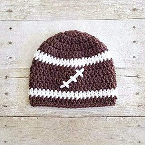 Amazoncom Crochet Football Sports Team Beanie Hat Newborn Baby