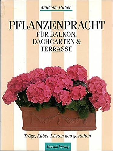 Pflanzenpracht Für Balkon, Dachgarten U0026 Terrasse: Kübel, Tröge, Kästen Neu  Gestalten: Amazon.de: Malcolm Hillier: Bücher