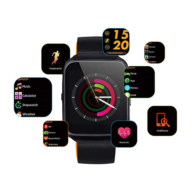 Amazon.com: Smartwatch Z40 Plus Pulsera Inteligente ...