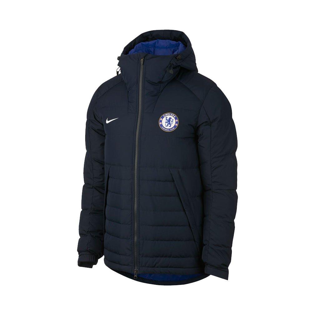 Nike 2017-2018 Chelsea Down Fill Jacket (schwarz)