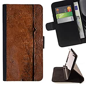 Jordan Colourful Shop - metal pattern nature brown For Sony Xperia Z3 D6603 - Leather Case Absorci???¡¯???€????€?????????