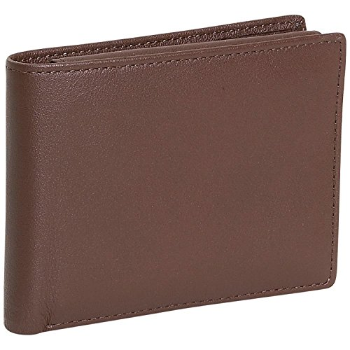 Royce Leather Men's Removable Id Pass Case Wallet One Size Coco