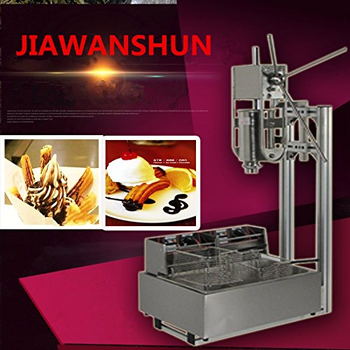 5L Churro Making Machine Spanish Churro Twisted Stick Machine with 12L Electric Deep Fryer by JIAWANSHUN (Image #3)