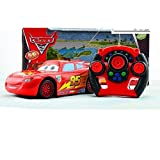 HB HOMEBOAT® Super Cute Cars Character Design Lightning McQueen 27MHz RC Car with Remote Controlling Transmitter (Red)