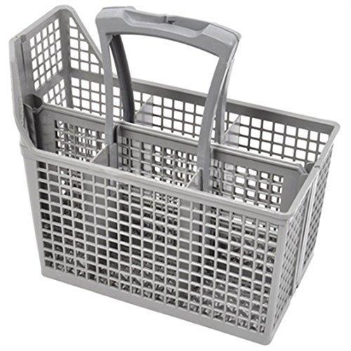 AEG - Cesto per posate da lavastoviglie con maniglia e coperchio, 6 scomparti