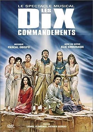 gratuitement la comedie musicale les dix commandements