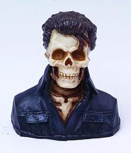 Elvis Skull Bust Figurine