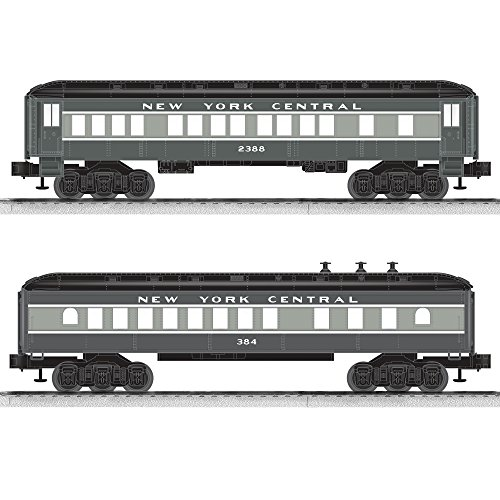 Lionel New York Central Coach/Diner Baby Madison Passenger Car (2 Pack)