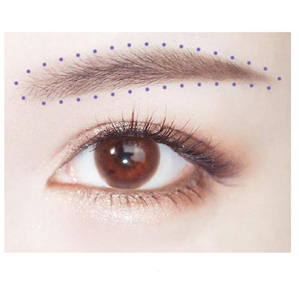 Floridivy Herramienta de Belleza de la Piel Impermeable ceja del Tatuaje rotulador Piercing Posicionamiento Pluma Regla del Maquillaje