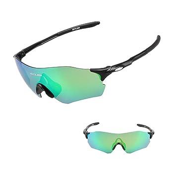 LYY Al Aire Libre a Prueba de Viento polarizadas Gafas de Sol Deportivas, Gafas de