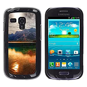 Paccase / SLIM PC / Aliminium Casa Carcasa Funda Case Cover - Sunset Beautiful Nature 41 - Samsung Galaxy S3 MINI NOT REGULAR! I8190 I8190N