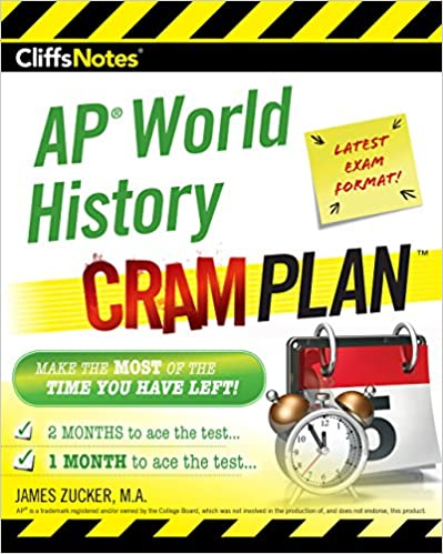 Amazon cliffsnotes ap world history cram plan ebook james cliffsnotes ap world history cram plan 1st edition kindle edition fandeluxe Choice Image