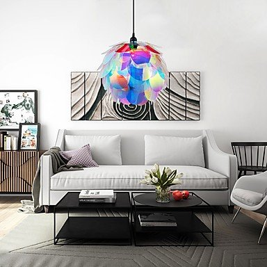 BAJIAN-LI Modern luxury A-10 Designer Style Artichoke Layered Ceiling Pendant Lampshade #10 by BAJIAN-LI (Image #3)