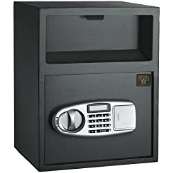 Paragon 7925 Digital Depository Safe .95 CF Front Load Cash Vault Drop Box