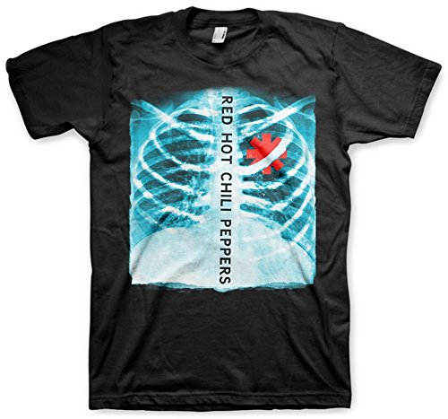 (Red Hot Chili Peppers - X-Ray T-Shirt Size L)