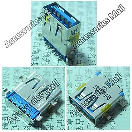 Cable Length: 100 pcs Computer Cables 2-100 PCS 3.0 USB Jack Socket Connector for ASUS N551 N551JM N551JK N551JZ N56V ZX50J etc Motherboard USB3.0 Port