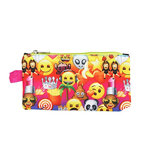 Emoji Yellow16 inch Backpack Back to School Essentials Set for Girls by FAB Starpoint (Image #4)