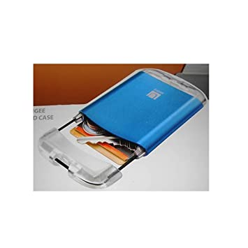 official photos 32b6f 2fd8f Umbra Bungee Wallet Business Card Case Aluminum Metalic Micro Card ...