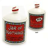 Our Name Is Mud by Lorrie Veasey Jar of Nothing Jar, 4-1/4-Inch