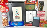 Men's Birthday Gift Box Basket II - Send Happy Birthday Wishes to Friend Dad Grandpa Brother With These 4 Macho Gifts and 17 Delicious Treats Today