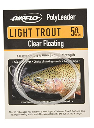 Airflo Light Trout Polyleader CLEAR 5FT FAST SINK