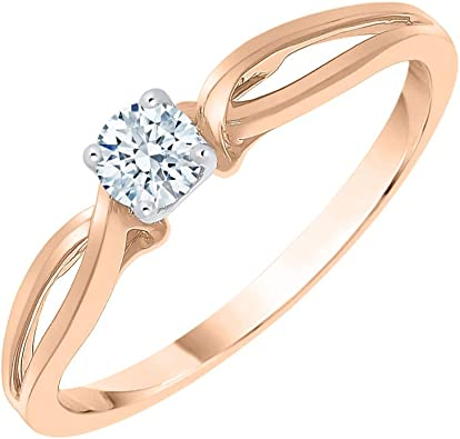 1//10 cttw, Size-5.75 Diamond Wedding Band in 10K Yellow Gold G-H,I2-I3