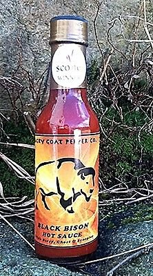 Angry Goat Black Bison Hot Sauce
