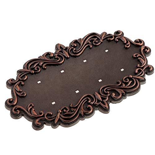MagiDeal 3 to 4 Digits Cassic European Style Pure Copper House Number Card Villa Apartment Number Plate - Copper, ()