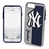 Forever Collectibles Dual Hybrid Bold Series Case for iPhone 7 MLB York Yankees