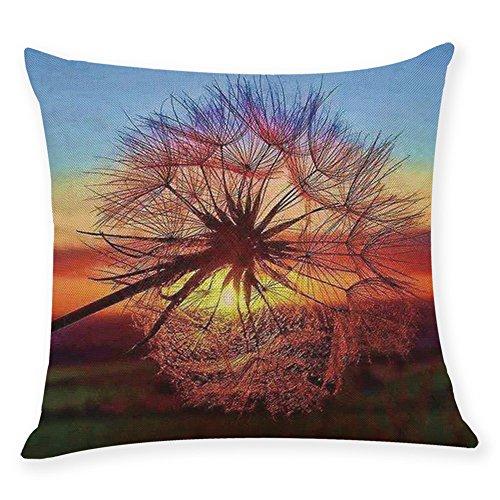 - Throw Pillow Cover, DaySeventh Home Decor Cushion Cover Beautiful Dandelion Throw Pillowcase Pillow Covers 18x18 Inch 45x45 cm