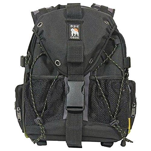Ape Case Pro DSLR Bag - Water-resistant Video Camera Backpack - SLR Backpack With Any Weather Cover - Travel Back Bag - Hiking Camera Backpack - Backpack Travel Bag - Laptop Backpack - Black