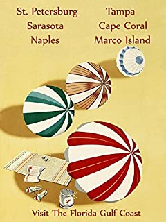 Florida Gulf Coast St. Petersburg Sarasota Naples Tampa Cape Coral Marco Island Beach Umbrella Travel