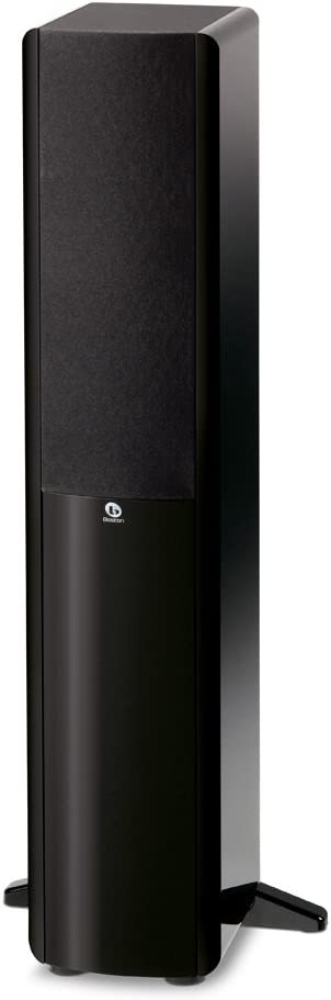 Boston Acoustics A 250 Dual 5.25-Inch Woofer Two-Way Floor Standing Speaker (Gloss Black)