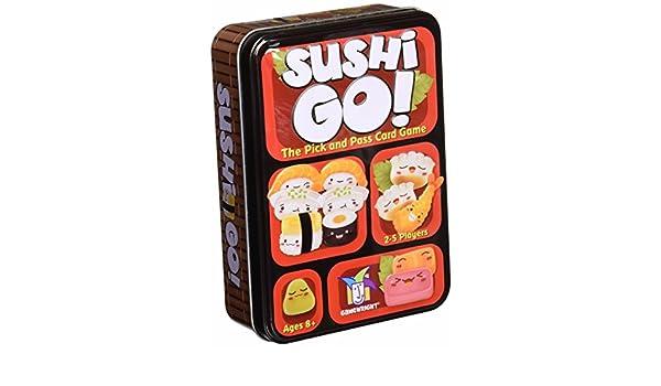 Sushi Go – el Pick y tarjeta de juego: Amazon.es: Hogar