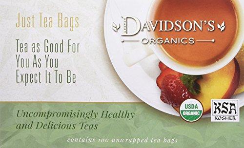 Davidson's Tea White Pomegranate, 100-Count Tea Bags