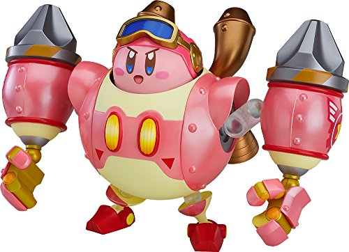 Good Smile Kirby Planet Robobot: Kirby Nendoroid & Nendoroid More Robobot Armor Action Figure Set, Multicolor