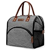 UtoteBag Lunch Bags Insulated Lunch Box Cooler Bag Wide-Open Lunch Tote Bag Thermal