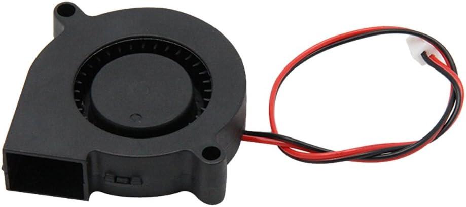 Iplusmile DIY Brushless Fan DC 12V 0.23A Cooling Fan for 3D Printer Accessories