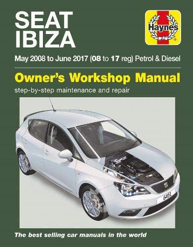 SEAT Ibiza ('08-'17): May 2008 to June 2017 (Haynes Owners Workshop Manuals) por Haynes