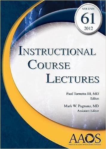 Amazon.com: Instructional Course Lectures, Volume 61, 2012 ...