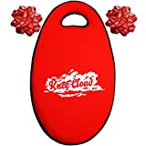 KNEE CLOUD Memory Foam Kneeling Pad- For Garden, Bathtub, Yoga, Canoe, Work & Prayer! Extra Large & Thick-18 x 11 x 1.5 in. Best Knee Pad Cushion by TRT Tools. (Red)
