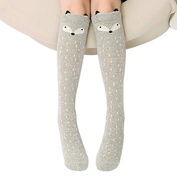 TININNA - Calcetines largos para niños (algodón, diseño de animales, altura hasta la rodilla) 2 3-12ans: Amazon.es: Productos para mascotas