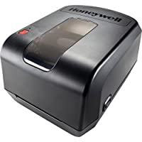 Honeywell PC42TWE01322 PC42T Desktop Printer, Latin Fonts, USB, Serial, Ethernet, 1/2 Core, US Power Cord, Black