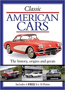 Classic American Cars Book And Print Packs Amazon Co Uk Park