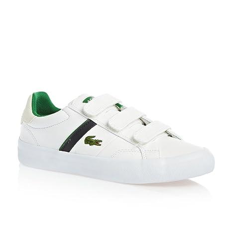 Lacoste - Zapatillas para niño blanco blanco, color Multicolor, talla I-6