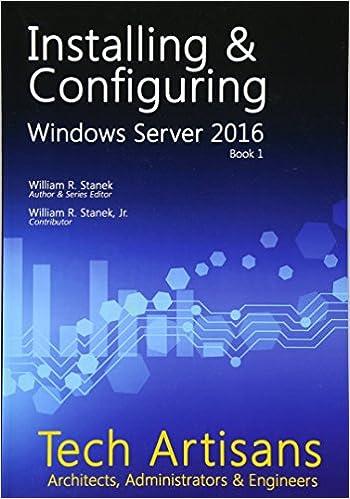 Amazon com: Windows Server 2016: Installing & Configuring (Tech